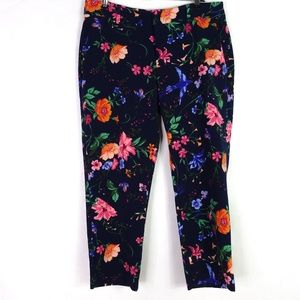 Old Navvy Harper Mid Rise Floral Pants